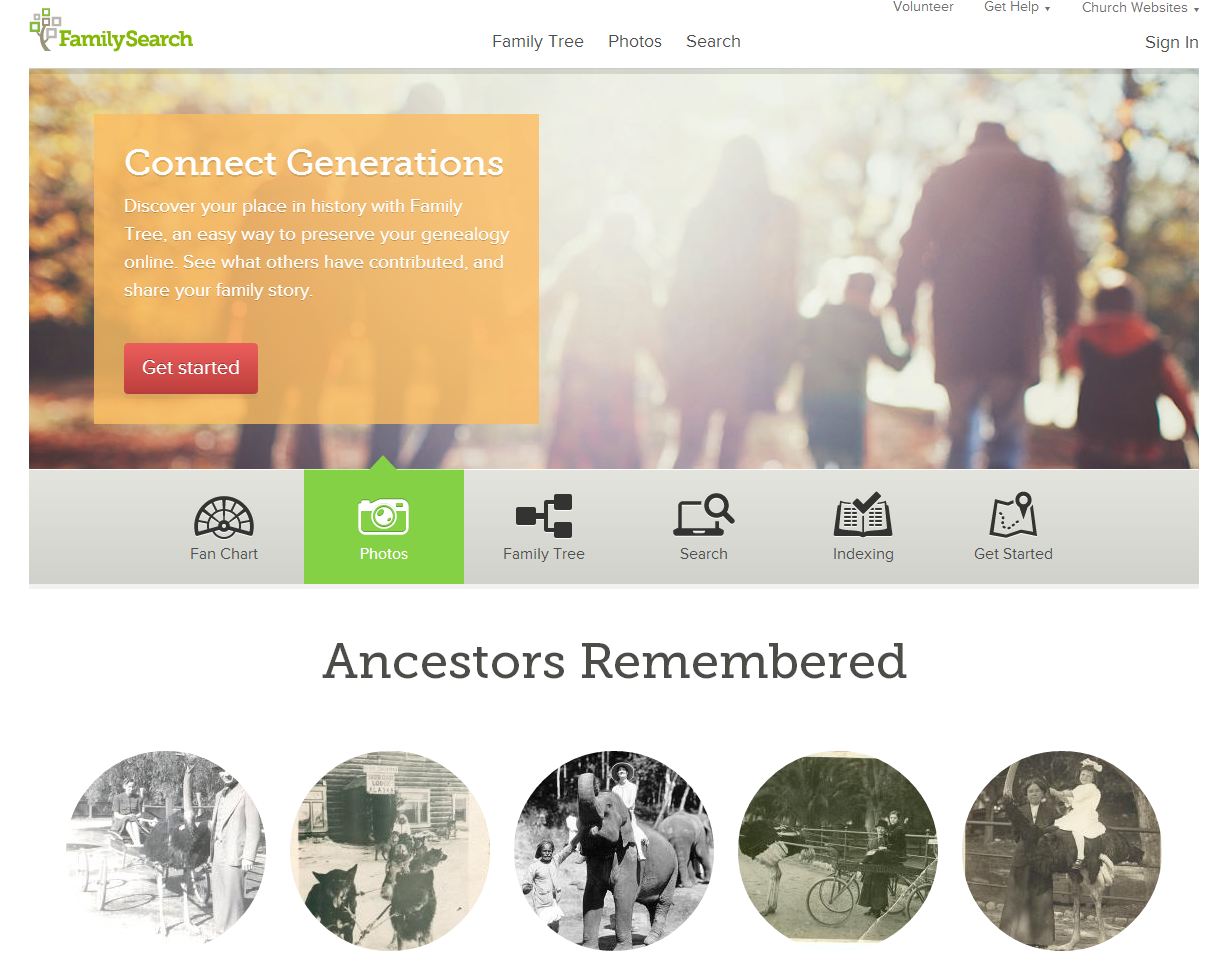 FamilySearch.org Provides New Online Tools To Help Preserve And Share Family Photos, Stories