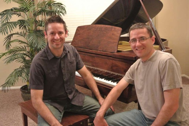 Two LDS Brothers, Jared  (l) And Neil Johnson, Have Had More Than 250,000 Downloads From PianoBragSongs.com A Website They Created, Where They Post Piano Sheet Music That They Have Transcribed And Have Made Available For Free Download.  Photo Courtesy Jared Johnson.