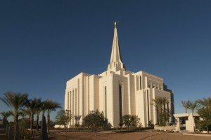 The Gilbert Arizona Temple will be open to the public for free tours from Saturday, January 18 through Saturday, February 15, excluding Sundays, and will be dedicated on March 2. Photo by John Power, Biltmore Photo.