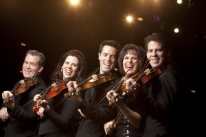The award-winning, three-generation performing group known as The Duttons--with (l to r) Timothy, Amy, Benjamin, Abby and Jonathon Dutton--will again bring their show to Arizona for the winter during the Branson off-season. Photo Courtesy of the Duttons.