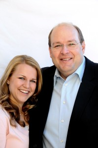 To help his hearing-impaired daughter, Kate, and to address some of the problems he saw with traditional hearing aids, Sam Thomasson engineered a new kind of hearing aid and founded Zounds Hearing.  Photo courtesy Zounds Hearing.