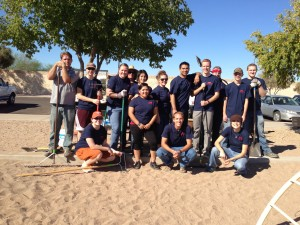 Members of Latter-day Saint stakes and other others in the community joined together to complete more than 60 projects that were overseen by the City of Mesa for Make a Difference Day in October. Courtesy Michelle Alvis, City of Mesa.