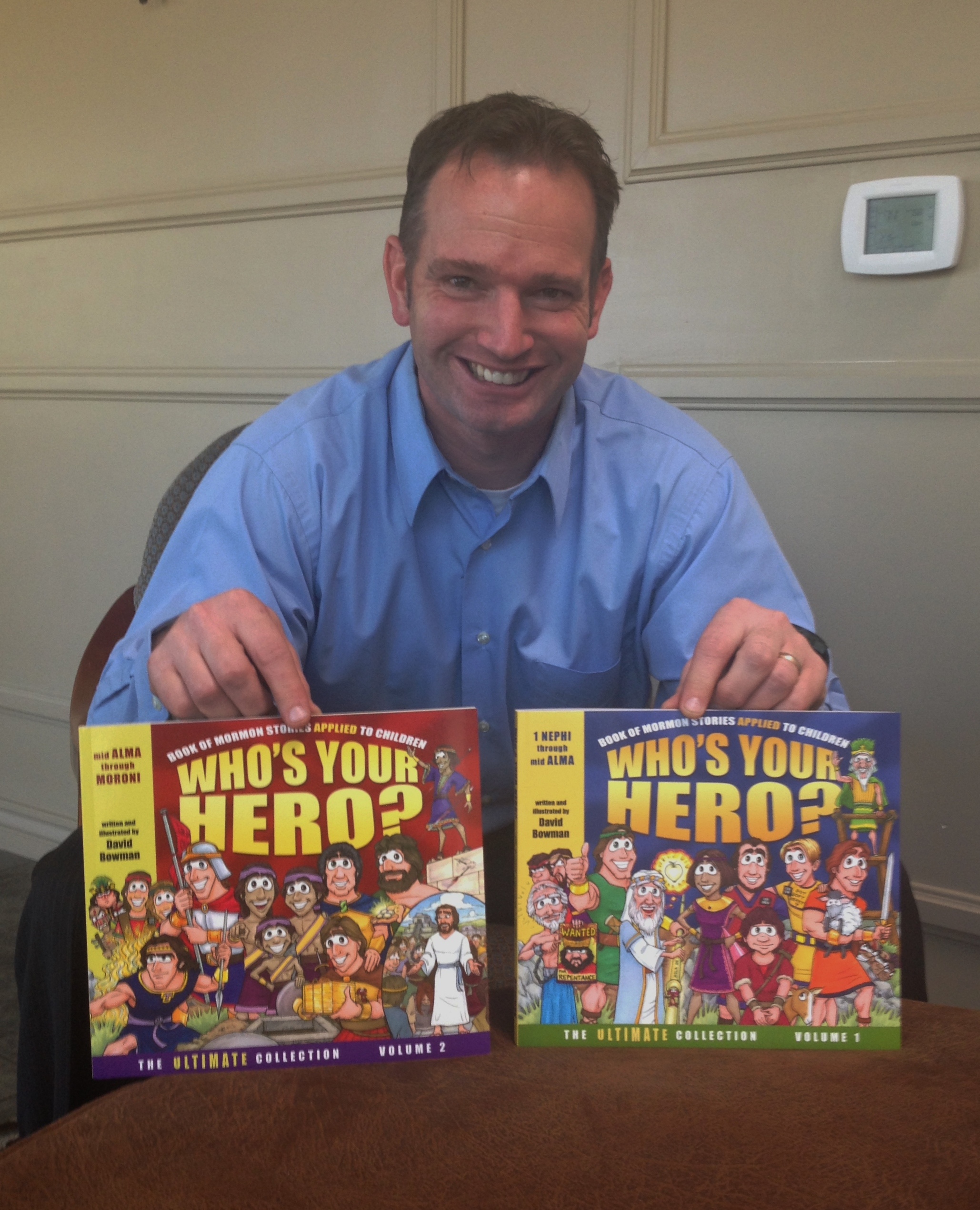 Author, Artist Helps Children Apply Book Of Mormon Lessons To Life