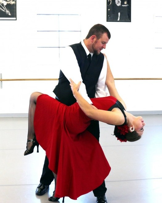 "Dawnee Burson And Greg Ethridge Won In The Adult ""tango"" Category At The Recent Dancing Stars Competition, A Benefit Event Held In White Mountains."