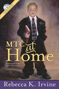 Recently released book, MTC at Home by Rebecca K. Irvine of Mesa, provides practical family home evening lessons for teaching family members how to be better member missionaries. Photo courtesy Rebecca K. Irvine.
