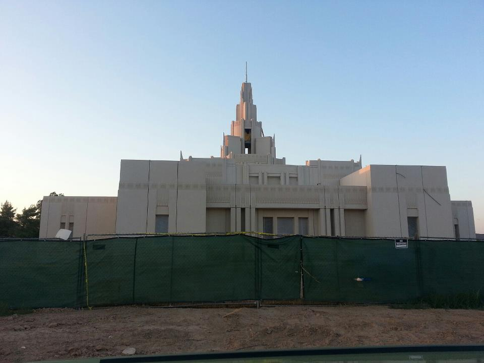 The Phoenix Arizona Temple, The Fifth Temple In Arizona, Is In The Final Stages Of Construction And, Though Not Formally Announced Yet, Is Expected To Be Completed Before The End Of The Year.  Photo By Cecily Markland