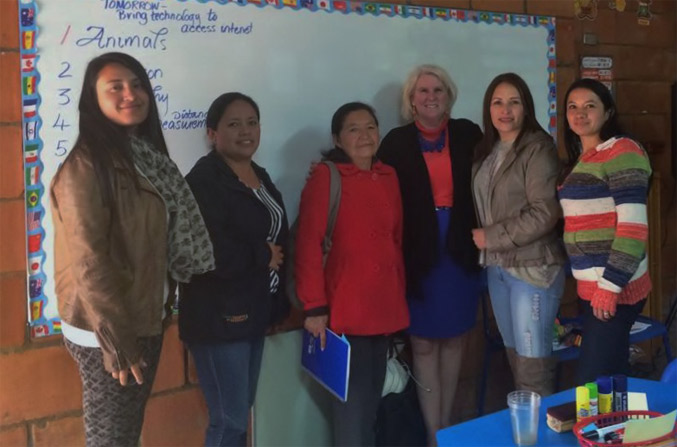 Colombian School Invites Arizona Educator To Train 36 Teachers