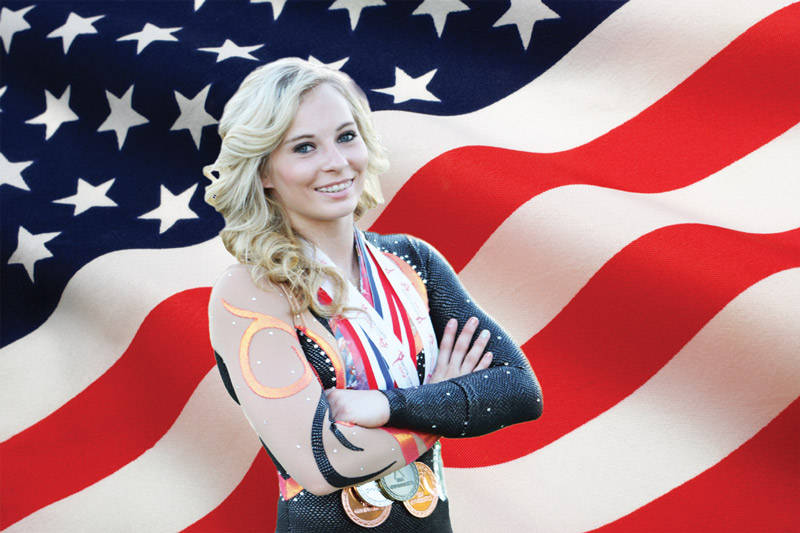 LDS Gymnast Sets Her Sights On 2016 Olympics