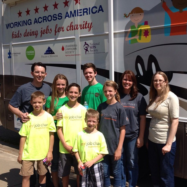 Family Completes Three Week Service Project, Doing Chores In 25 Cities Across The Nation