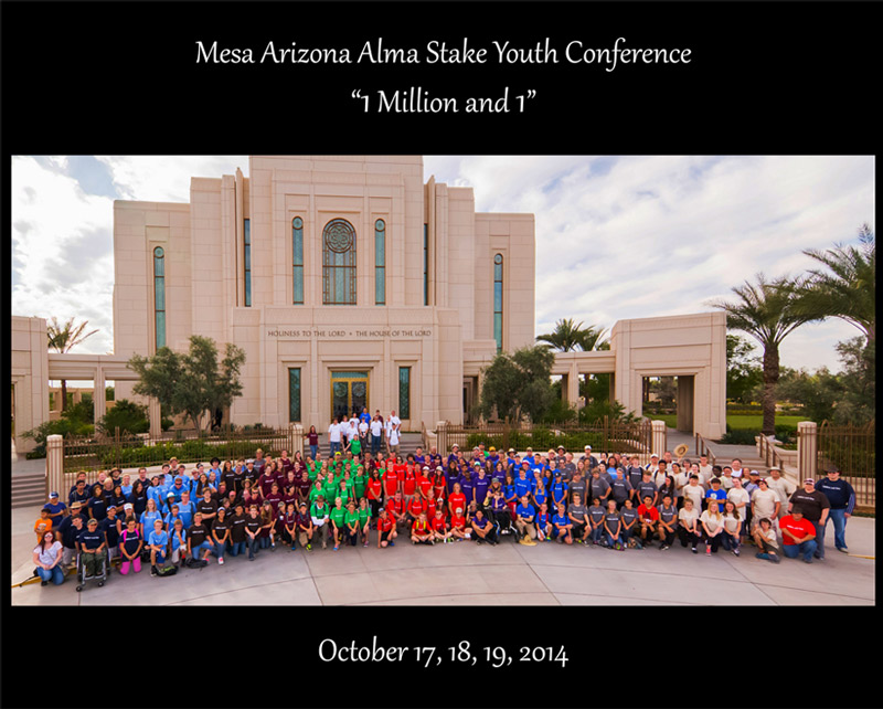 Mesa Alma Stake Youth Take On The Challenge To Index 1 Million Records