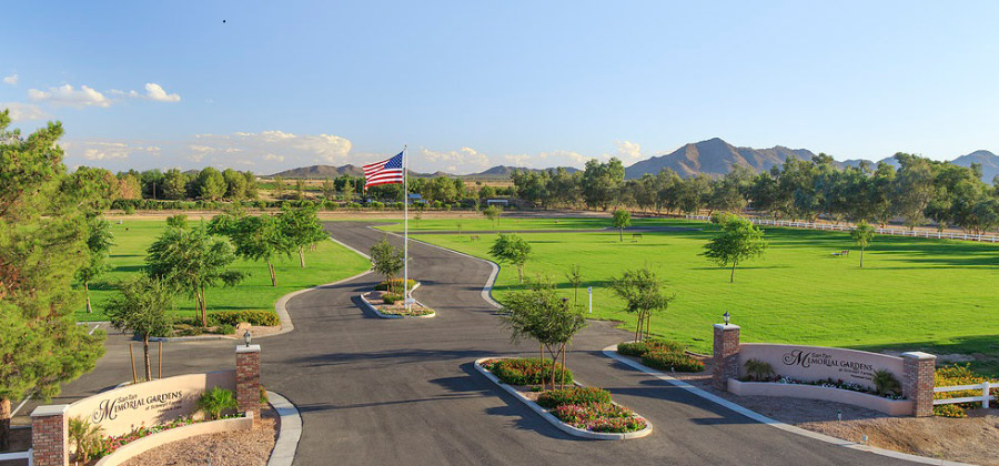 The San Tan Memorial Gardens Offers A Beautiful Final Resting Place In The Southeast Valley