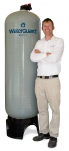 Luxury home builder, Joel Johnson, came up with a design for water storage tanks that are incorporated into a home's water system, and started an emergency preparedness company, Speros Systems, to make those available to the public.