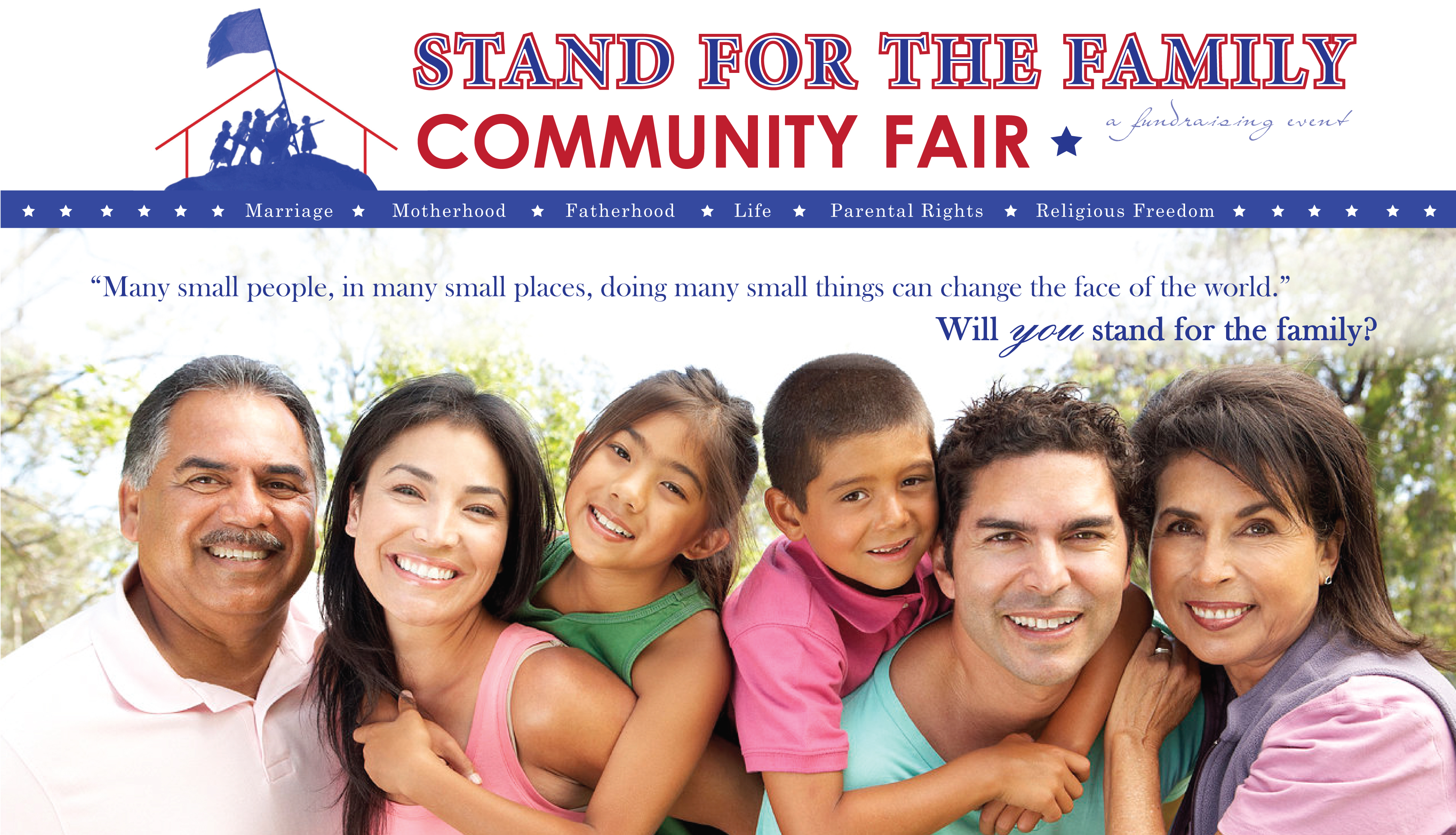 Stand For The Family Community Fair Family Watch International