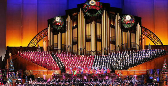 Mormon Tabernacle Choir 2015 Christmas Concert