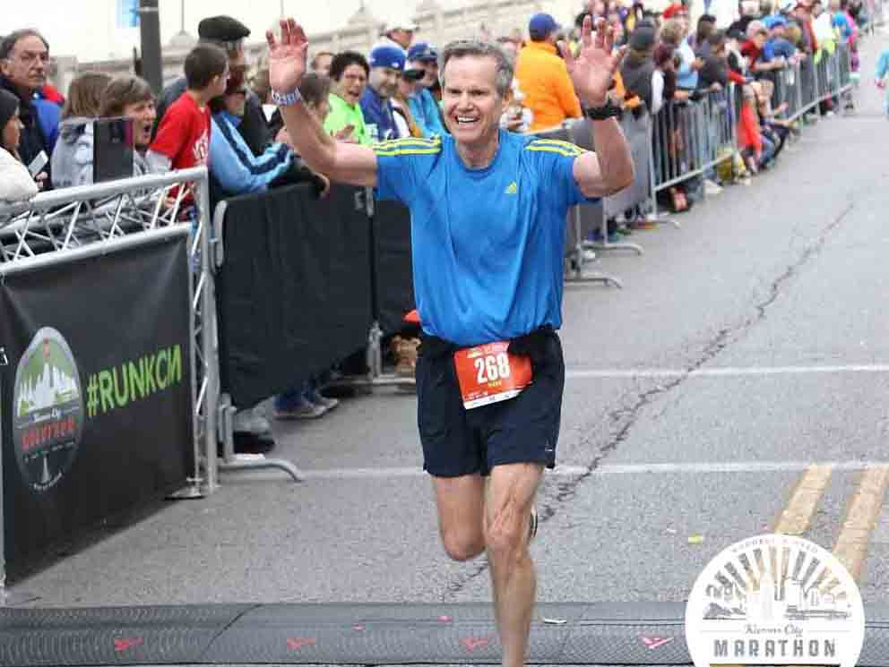 Mark Dangerfield Marathon Runner