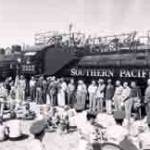The Save Our Train Committee, is hoping the Southern Pacific Engine #2355, donated to the city of Mesa in 1959, may soon have a more visible resting place at the forefront of Pioneer Park, across the street from the Mesa Temple Visitors' Center.