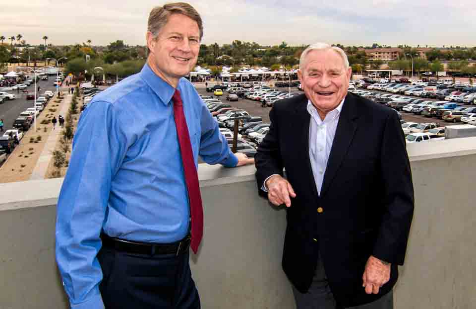 Gilbert Mayor John Lewis To Replace Retiring Roc Arnett
