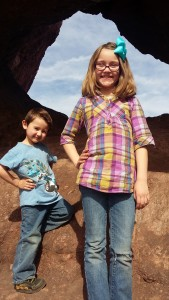 Phoenix's Hole in the Rock is an easy, fun hike for kids just minutes away from downtown. Photo courtesy of The Beehive staff.
