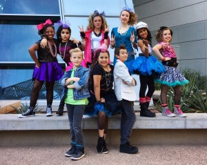 Spotlight Entertainment's America's Got Talent performers. The troupe auditioned for the hit television show in December. Photo by Christy Hiniker
