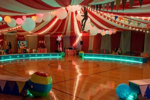 This Years Prom Theme Was Vintage Circus With Fun Carnival Photo Ops And Games