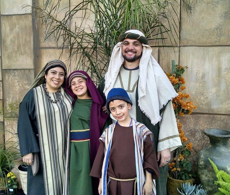 Backstage Miracles At The Mesa Temple Easter Pageant