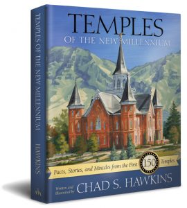 Temples of the New Millennium, written and illustrated by Chad Hawkins, is a showcase of the unique architecture and inspirational stories of each of the 150 working temples, including the five in Arizona. Photo courtesy Chad Hawkins