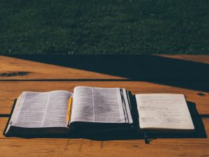 Study journals chronicle a missionary's spiritual growth. Photo by Stock Photo - Pixaby