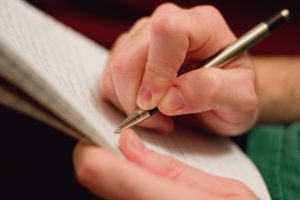 Journaling is often the most direct way to preserve memories for others to share. Photo by Stock Photo – LDS Media