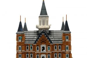 Brick'em Young Toy Brick Temple Models Let Kids Build The Kingdom—Literally!