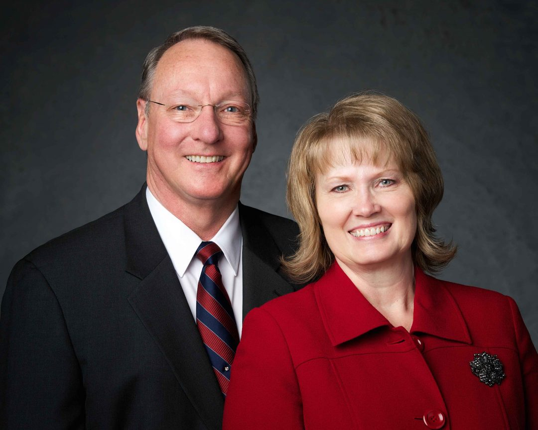 As of July 31, Richard W. Wheeler, assumed his duties as Mission President of the Arizona Gilbert Mission, where he is serving with this wife, Linda. Photo courtesy Richard W. Wheeler