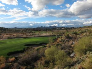 "A golf course at Firerock, which features 18 holes in gorgeous desert terrain. ""Balera at Firerock"" by Dru Bloomfield via Flickr (CC-BY)"