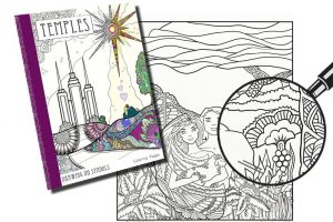 New Adult Coloring Book Features Symbols Of The Temple