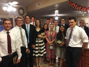 Mesa Kimball East Stake mission preparation class, October 2016. Photo by Sister Debbie Murset