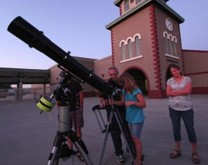 Tony La Conte, professional stargazer, brings the heavens a little closer to Valley residents through Stargazing for Everyone. Photo courtesy of Tony La Conte.