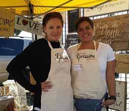 (L To R) Stacy Hawkins And Jazmin Hidalgo Display A Variety Of Their Wares At A Local Crafting Expo Recently. Photo Courtesy Of Jazmin Hidalgo.