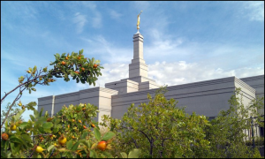 Snowflake Arizona Temple. Photo by John McCleve