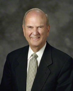 President Russell M. Nelson shared his rich family legacy at Family Discovery Day