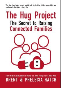 The Hug Project, a new release by best-selling authors Phelecia and Brent Hatch, helps parents connect with their children. Photo courtesy of Brent Hatch