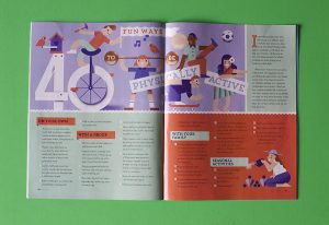 The New Era featured his illustrations in a recent edition. Photo Courtesy of Andrew Beck