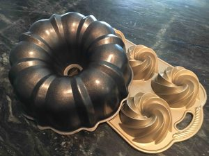 Bundt and Bundlet pans allow for confections in all different sizes. Photo by Rachael Fuller