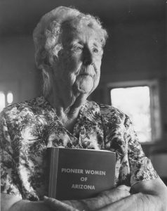 Roberta Flake Clayton in her 90's. Photo courtesy of BYU Religious Studies Center