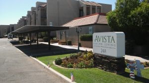 The original Avista location in Downtown Mesa. Photo by Parker Sappington