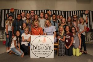 Sister Elaine Dalton, former General Young Women's President, and her daughter, Emi Edgley, were among the 2017 Time to Blossom speakers. Photo courtesy of Time to Blossom.