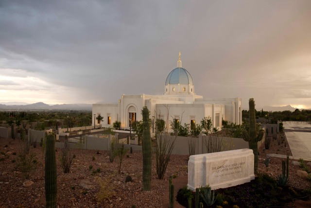 Arizona's Sixth Temple Shines In Tucson's Catalina Foothills