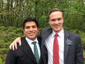 Elder Ramirez and Elder McCormick.