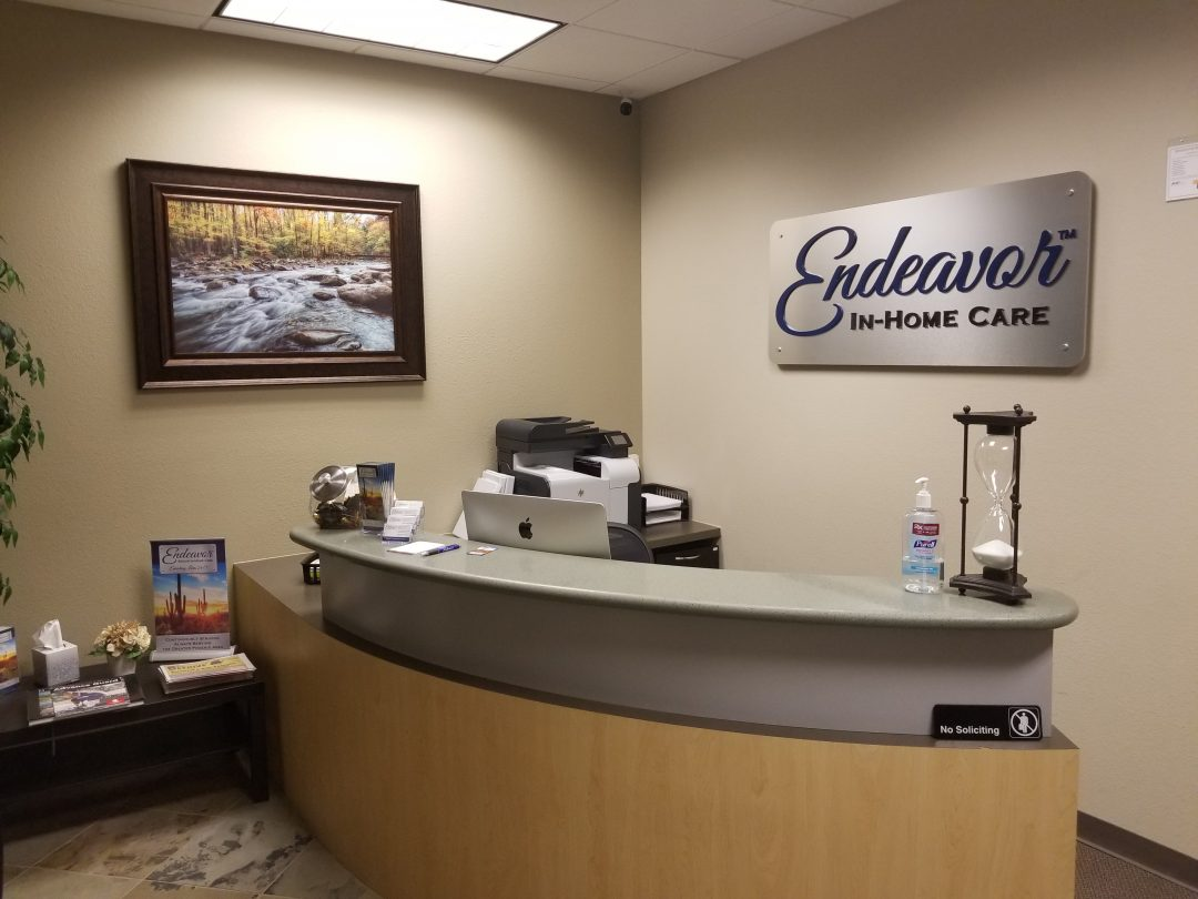 Endeavor Senior In-Home Care Val Vista Location Reception.