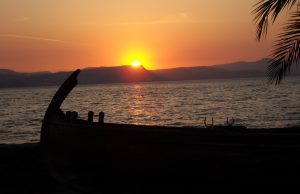 A peaceful sunset at the Sea of Galilee. Photo courtesy of EquityLife Institute in Galilee.