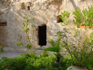 Spring at Christ's Garden Tomb. Photo courtesy of EquityLife Institute in Galilee.