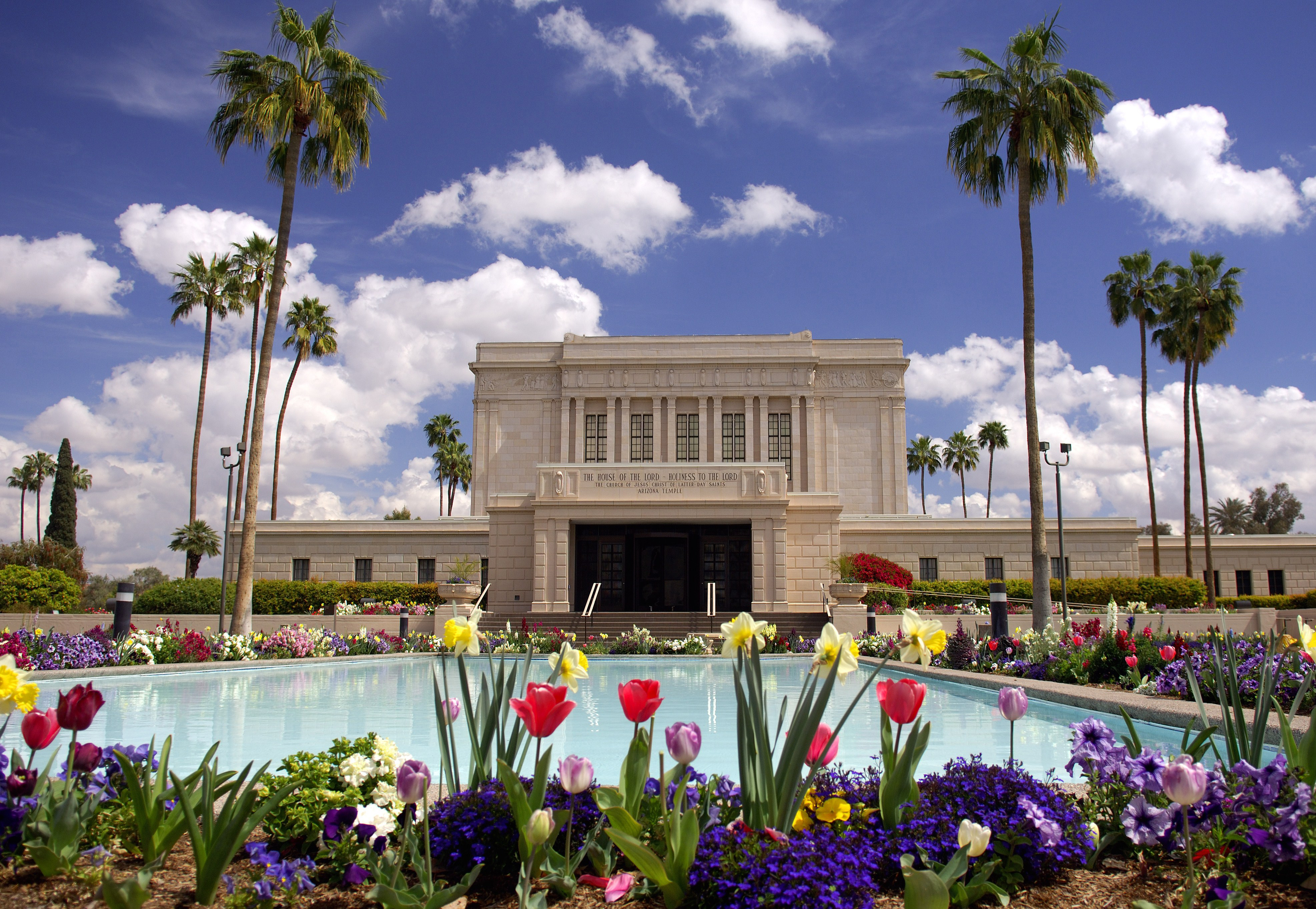 The Mesa Arizona Temple, which was first dedicated in 1927, and was rededicated after extensive remodeling in 1975, is scheduled for another closure for renovation beginning in May 2018. Photo courtesy of The Church of Jesus Christ of Latter-day Saints Media Room
