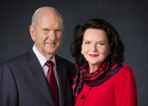 President Russell M. Nelson and his wife, Wendy Watson Nelson. © 2018 BY INTELLECTUAL RESERVE, INC. ALL RIGHTS RESERVED.